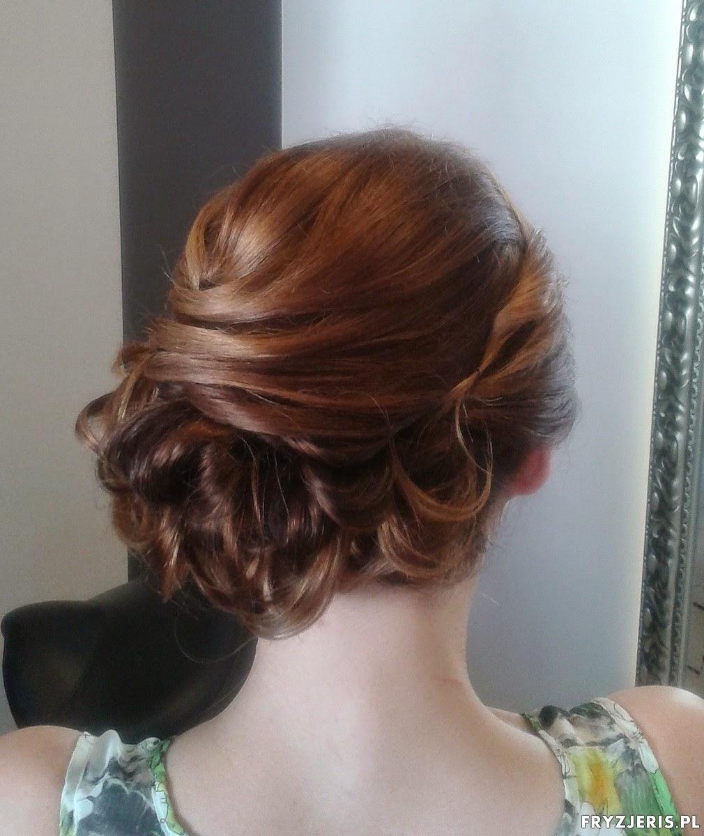 fryzury do ślubu