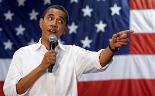 President Obama op zijn 50e verjaardag