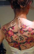 back tattoo women