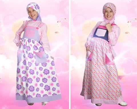 busana muslim anak perempuan modern