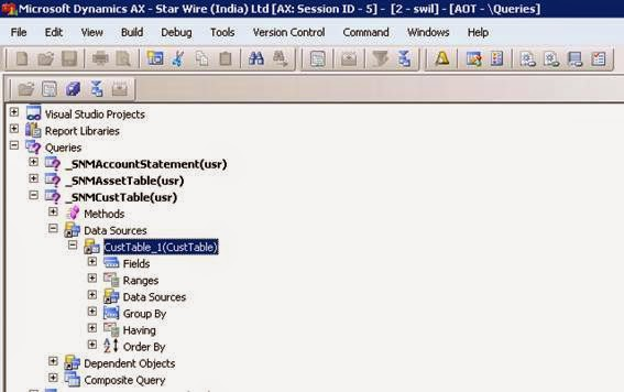 Ms Dynamics Ax  How To Create Ssrs Report With Parameters In