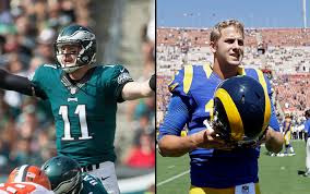 Wentz/Goff Showdown