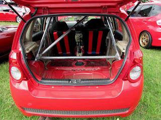Modifikasi Chevrolet Aveo, Perkuat Aura Balap