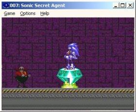 Sonic Games - Sonic Secret Agent