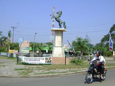 Salah satu sudut kota Cepu