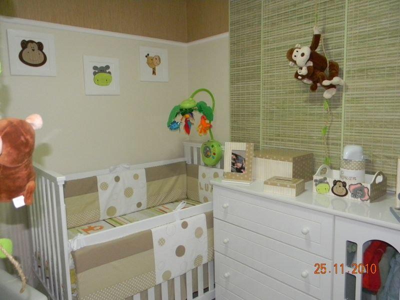 Quarto De Bebe Decorado Com Safari ~ Atelier Arte Criatividade Quarto Infantil Safari