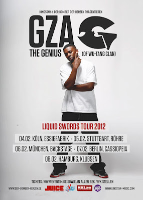 GZA Announces the Liquid Swords 2012 Tour
