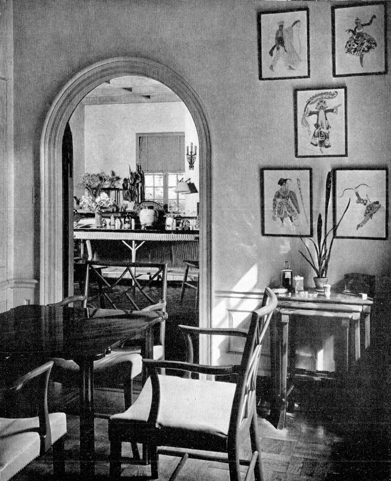half painted walls william lawrence bottomley architect