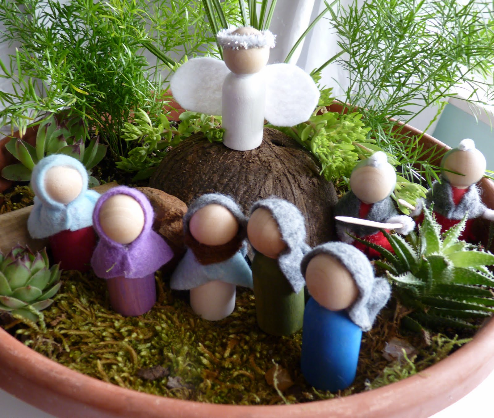 At the butterfly ball our easter garden for Easter garden designs