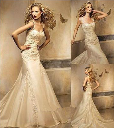 ivory wedding dresses