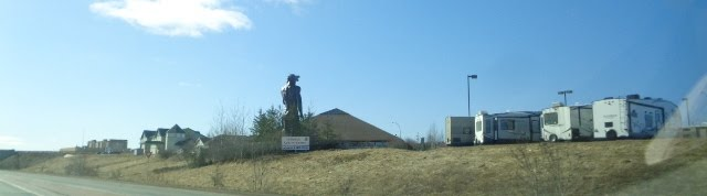 Why are some statues in Canada being removed from the landscape and others are not? click pic