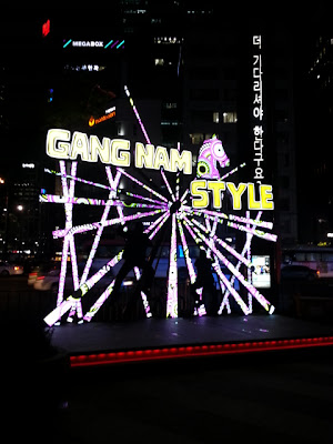 gang nam style stage in gangnam