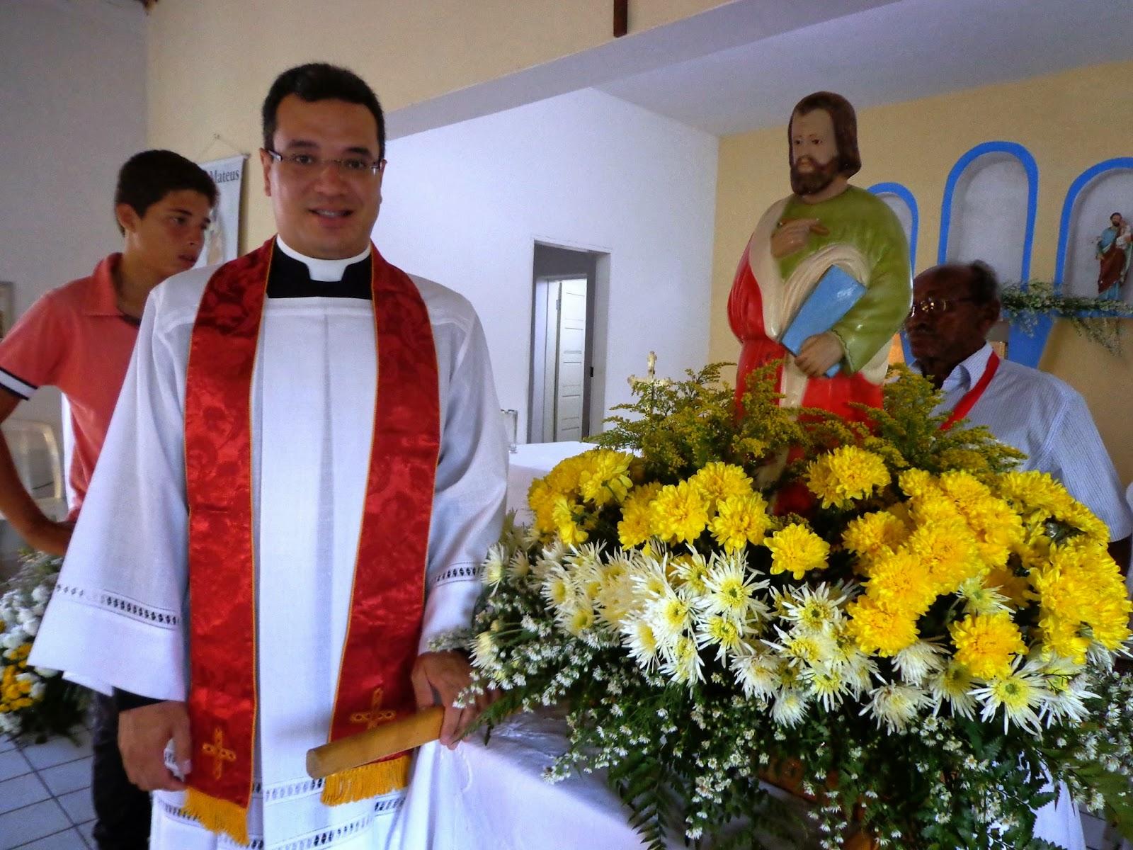 Mensagem de gratidão do Padre Gabriel