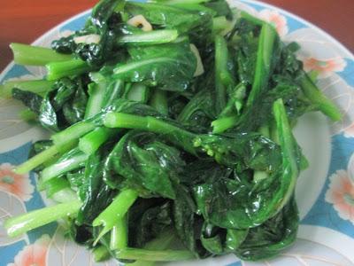 sayur sawi,sayuran daun,diet sihat