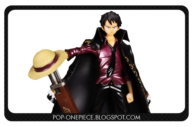 Monkey D. Luffy LAWSON Limited Color - P.O.P Strong Edition
