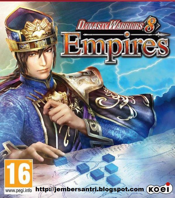 Dynasty Warriors 8 Empires PC Cover Logo by http://jembersantri.blogspot.com