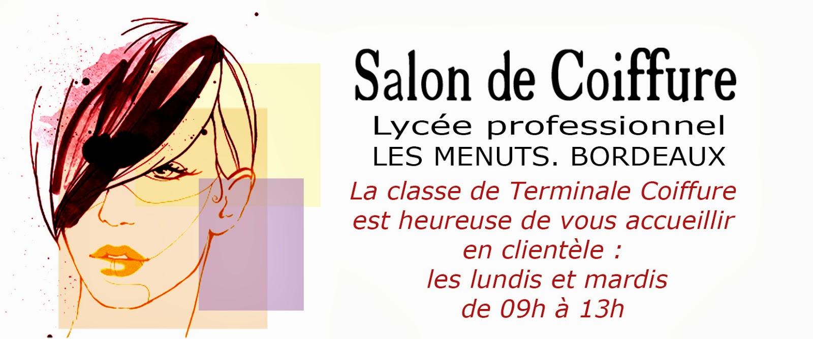 Lyc e professionnel les menuts bordeaux ouverture du for Salon professionnel bordeaux