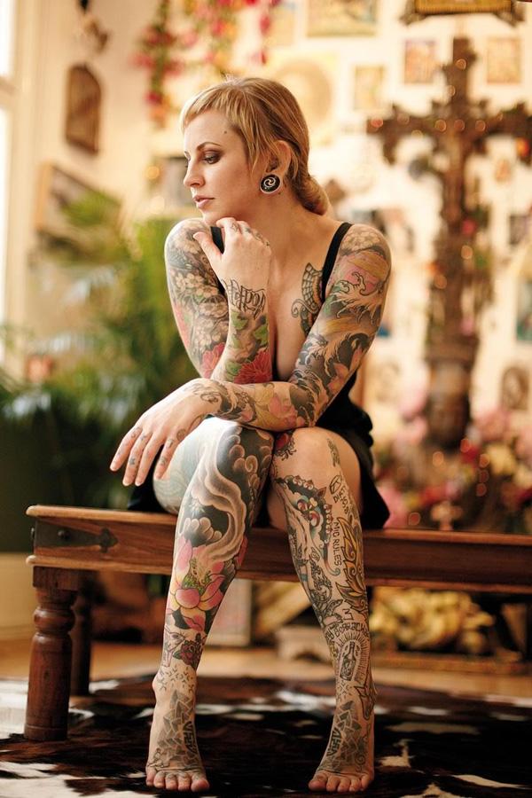 Tattooed Models