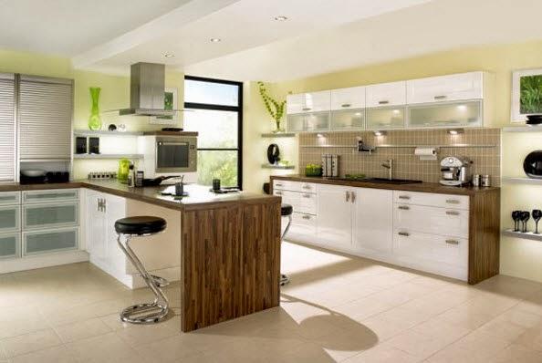 Isla sencila para cocina en madera for Islas de madera para cocina