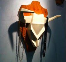 exposition des créations de jeunes designers, dont R ASSOULINE, S GENTIL, CC la Valentine Marseille