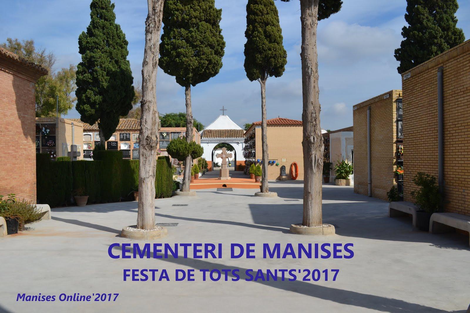 01.11.17 DIA DE TOTS SANTS EN EL CEMENTERI DE MANISES