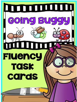 Task Cards: Fluency