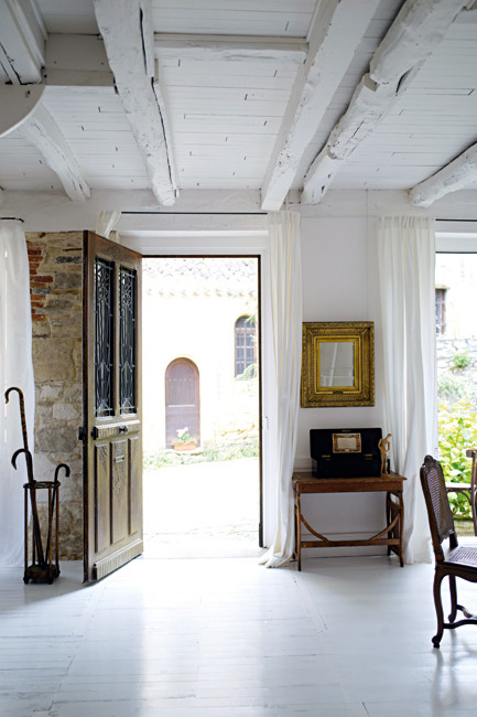 Estilo rustico casa de campo rustica francesa for French doors main entrance