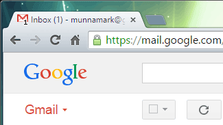 Number of Unread Message in Browser Tab