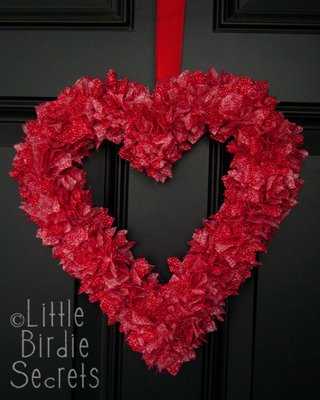 Heart Wreath by Little Birdie Secrets