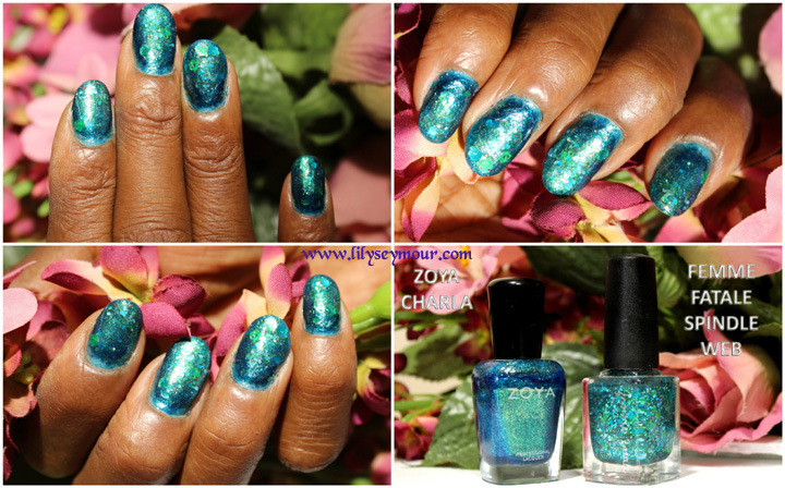 Zoya Charla and Femme Fatale Spindle Web