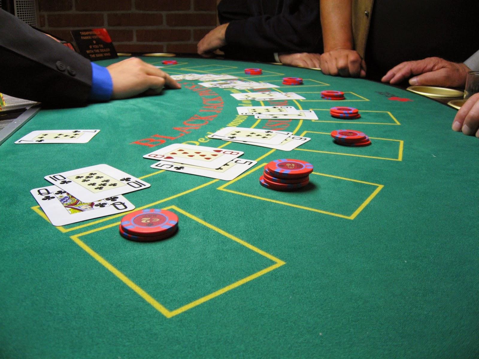 Blackjack Tisch