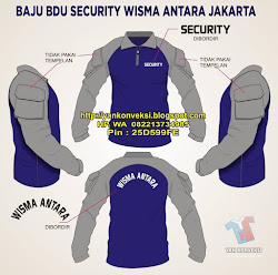 KEMEJA BDU SECURITY