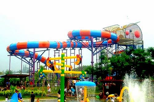 Water Kingdom Mekarsari, the largest water park in Asia