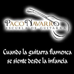 ESCUELA DE GUITARRA PACO NAVARRO