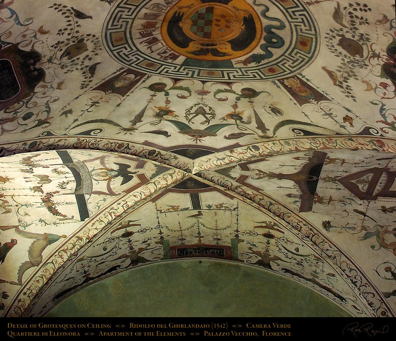 Al xandros palazzo vecchio di firenze ostenta sottilmente - Decorazioni grottesche ...