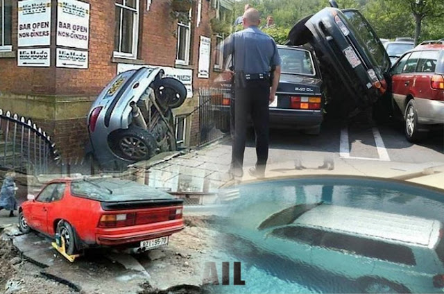 funny parking fails