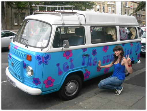 ode   hippie van