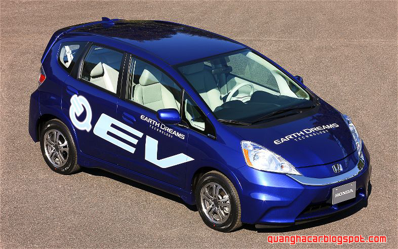 Driving Range Of The Honda Fit EV Can Be Maximized By Using Several  Innovative Features, Including A 3  Mode Electric Drive System, Adapted  From The CR Z ...