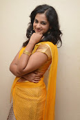 Nanditha raj latest photos in half saree-thumbnail-11
