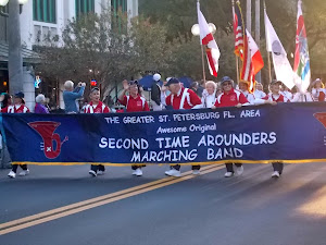 This kinda says who lives in St. Pete. 2nd Time Arounders. It was a great parade!