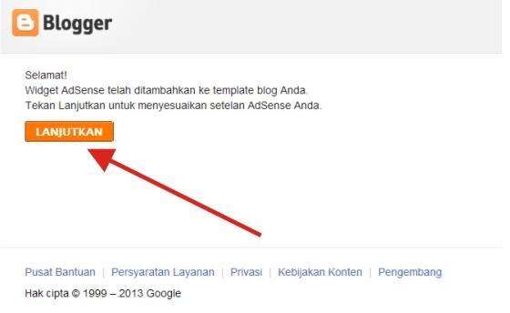 Cara Mendaftar di Google Adsense Tahap 5
