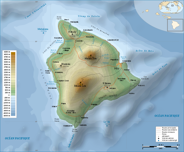 Map Analysis Map Catalogs Topographic Map Of Hawaii