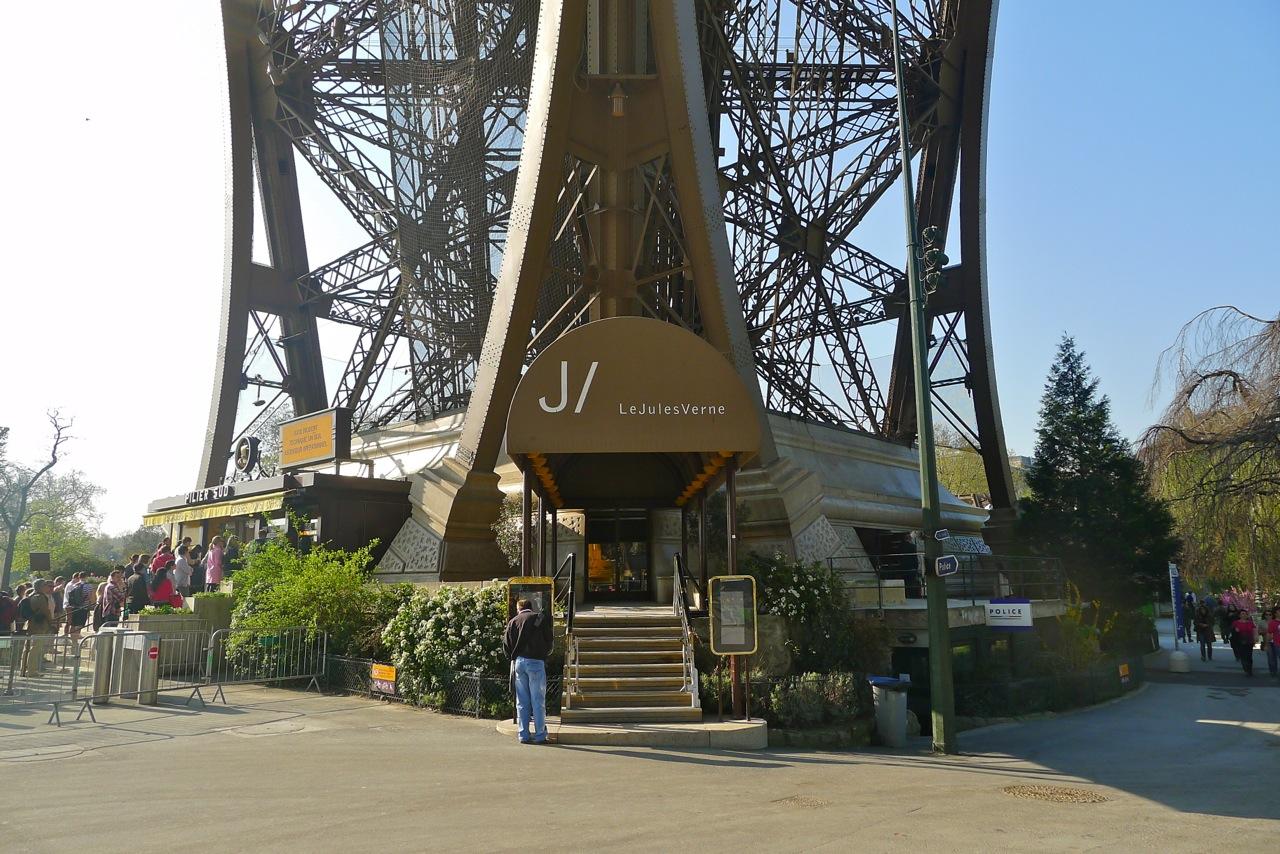 HUNGRY HOSS Alain Ducasse S Le Jules Verne Paris