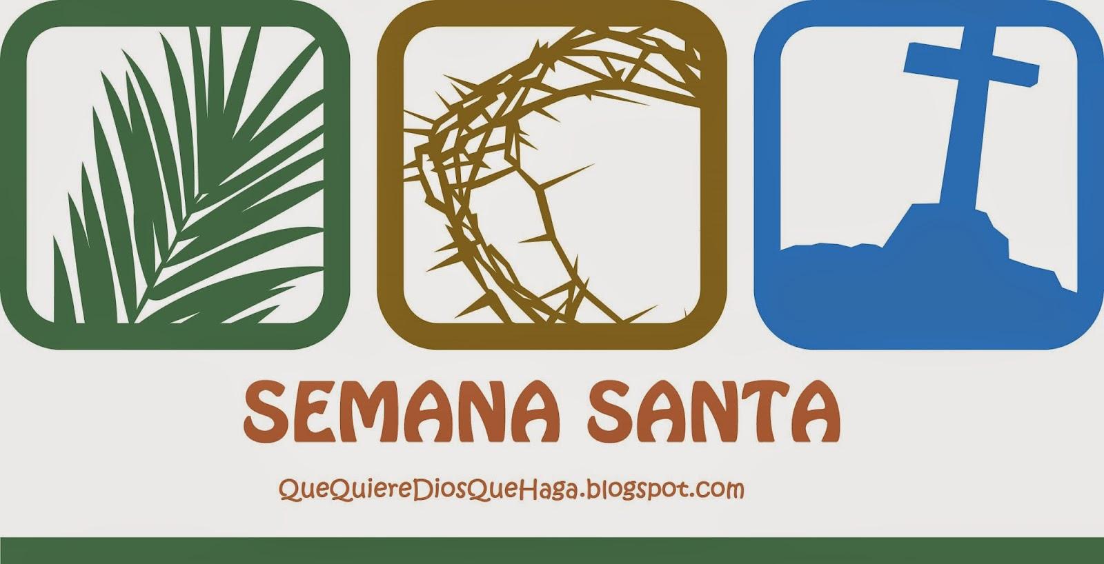 QUE QUIERE DIOS QUE HAGA EN SEMANA SANTA - QUE COMER EN SEMANA SANTA