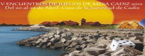 V Encuentros de Juegos de Mesa Cádiz 2012
