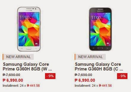 Samsung Galaxy Core Prime Specs Price Philippines