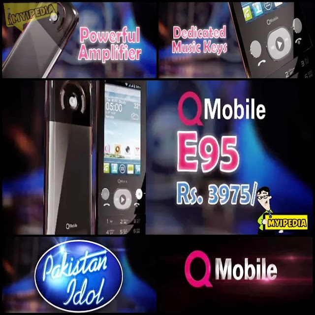 qmobile pakistan idol mobile phone tvc