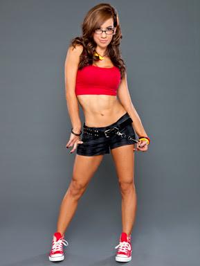 WWE Diva AJ Lee Hot