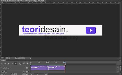 Cara Membuat Banner Iklan Animasi Menggunakan Adobe Photoshop bagian 4