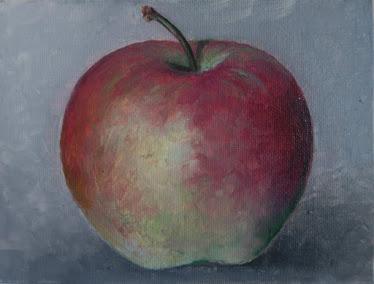 Una manzana (16x12 cm)